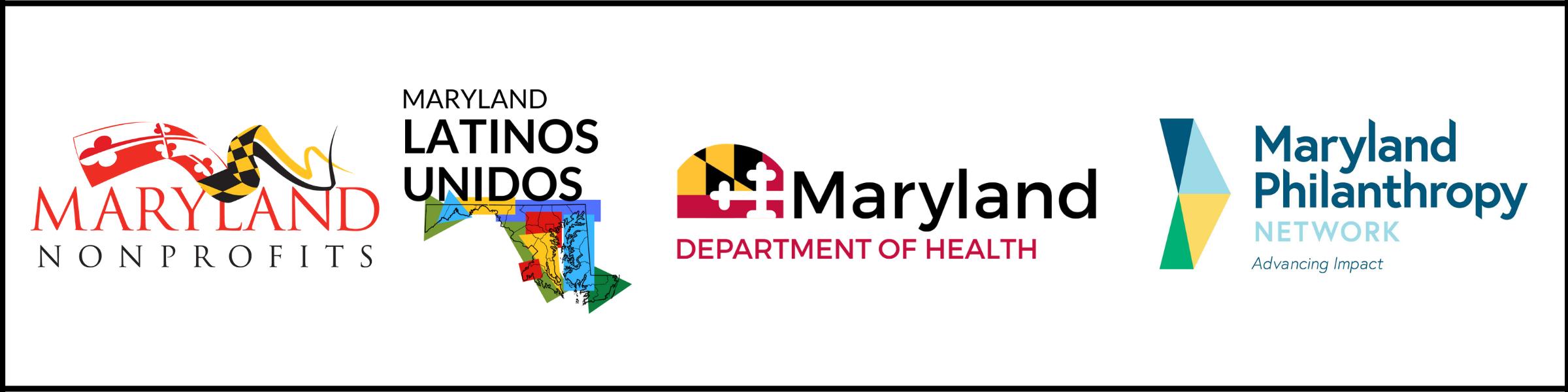 Maryland Nonprofits, Maryland Latinos Unidos, Maryland Department of Health, Maryland Philanthropy Network