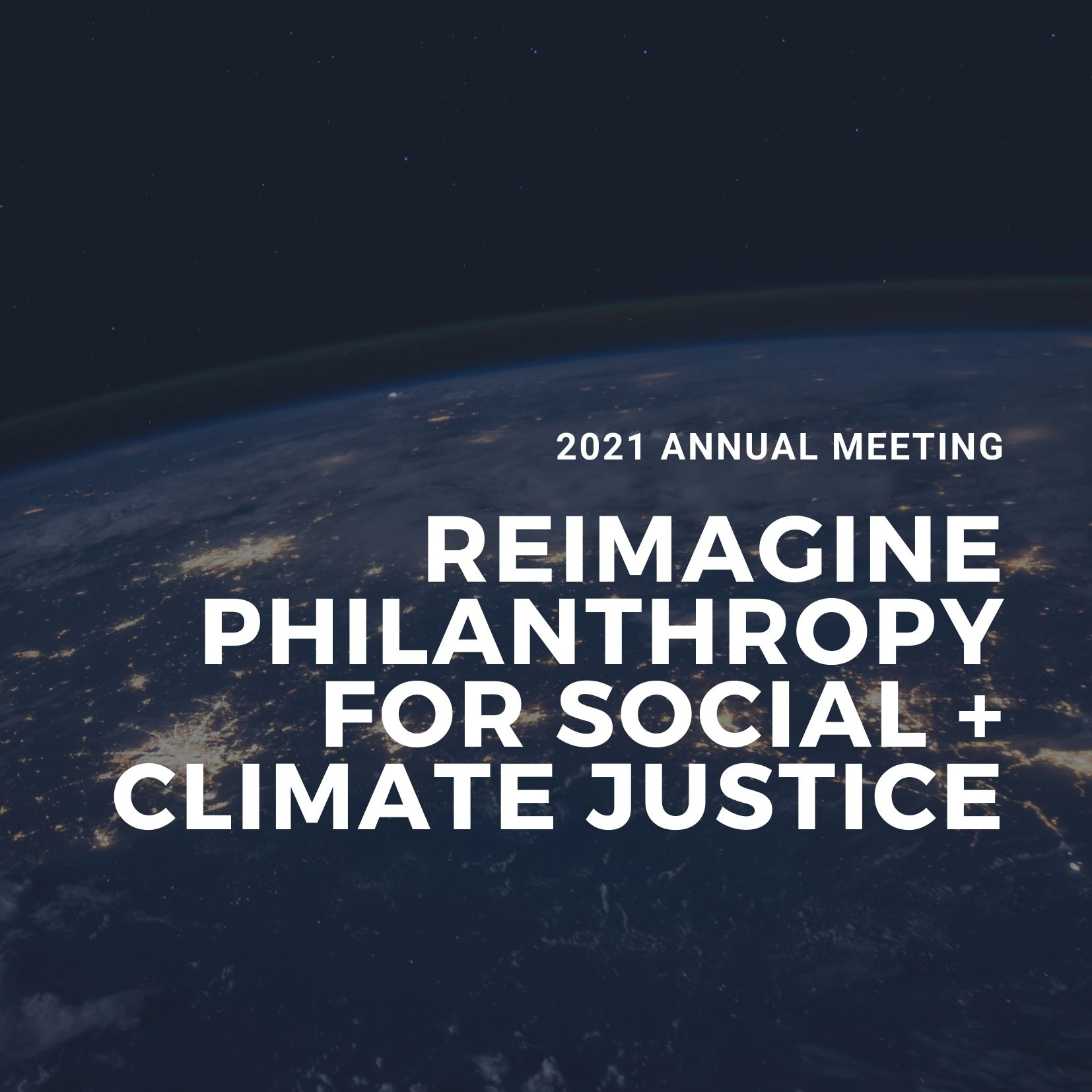 Reimagine Philanthropy for Social and Climate Justice